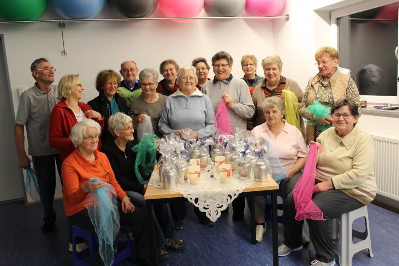 Seniorengymnastikgruppe Pilsach